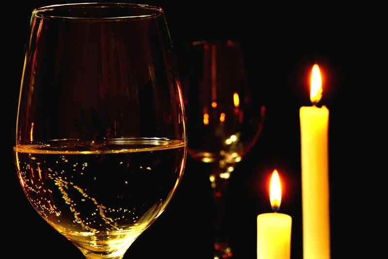 Wine & Candles