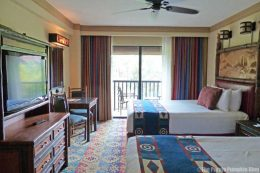 Wilderness Lodge Hotel Room