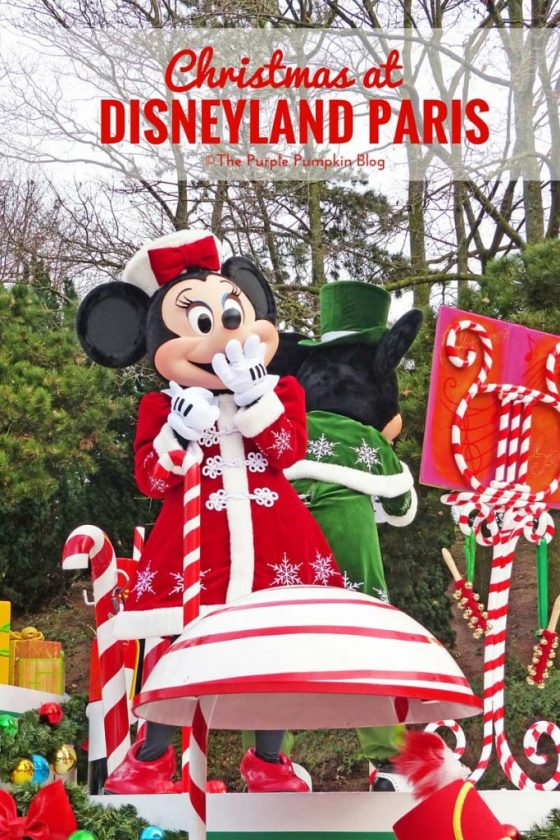 Christmas at Disneyland Paris - Trip Report. Part 3 is all about the Disneyland Park