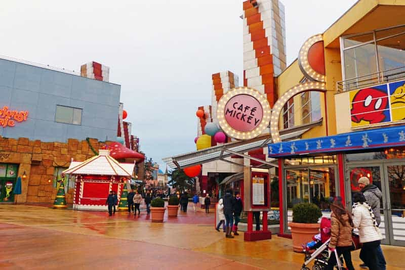 Downtown Disney Food Places