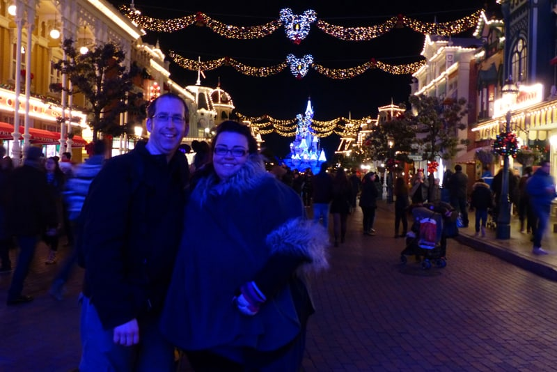 Us at Disneyland Paris
