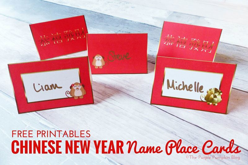 Are not Asian place card simply