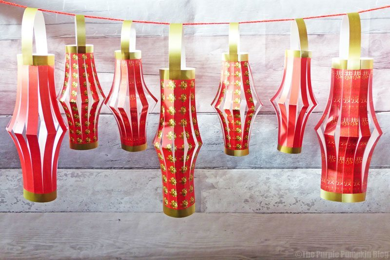 How To Make Paper Lanterns - Chinese New Year of the Dog