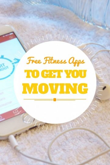 Free Fitness Apps To Get You Moving - don't let cost stop you from working out!