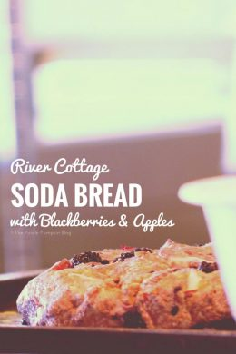 River Cottage Soda Bread with Blackberries + Apple