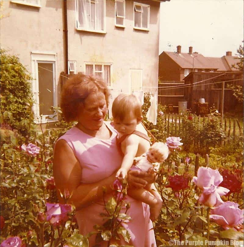 Me with my Nanny