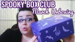 Spooky Box Club - Box of Strange - March 2016 Unboxing Video