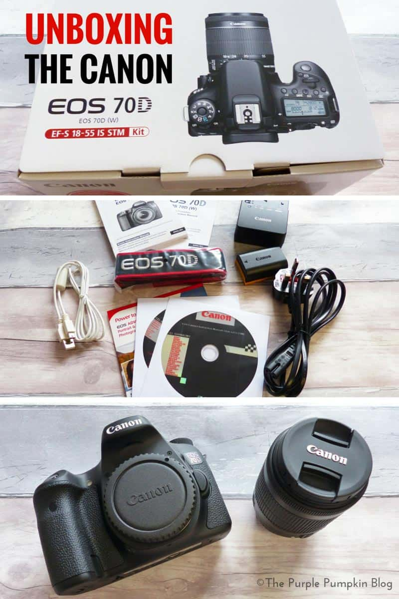 Unboxing the Canon EOS 70D