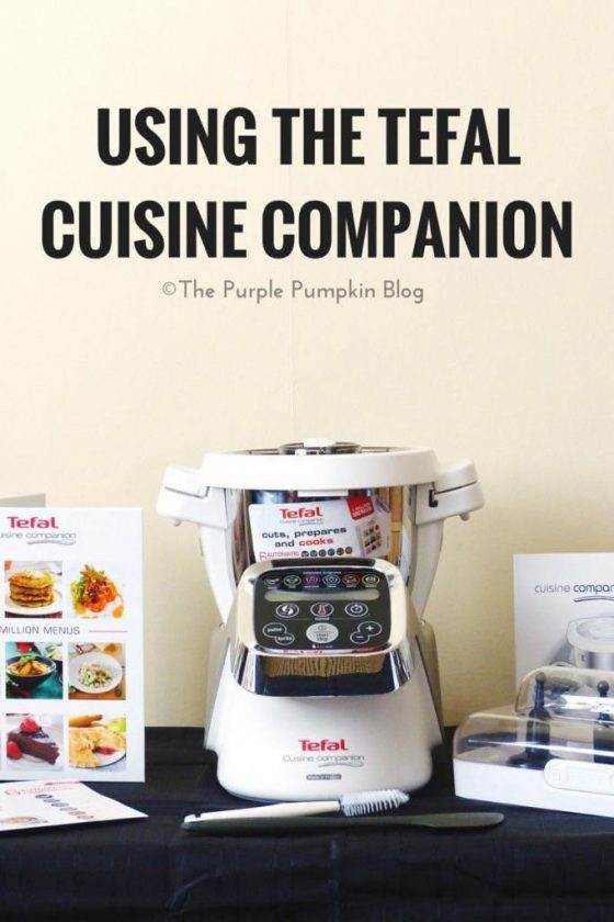 Using the Tefal Cuisine Companion