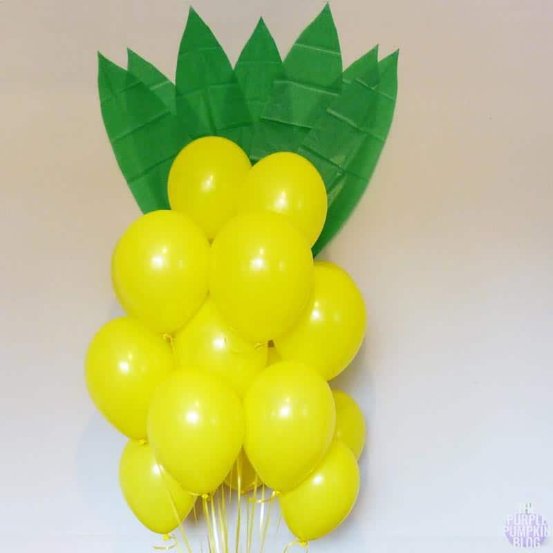 Giant Pineapple Balloons