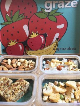 Graze Box Review + Unboxing Video - #Yummertime