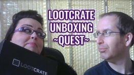 Lootcrate Unboxing - Quest Box - April 2016