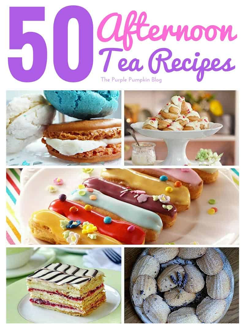 50 afternoon tea recipes