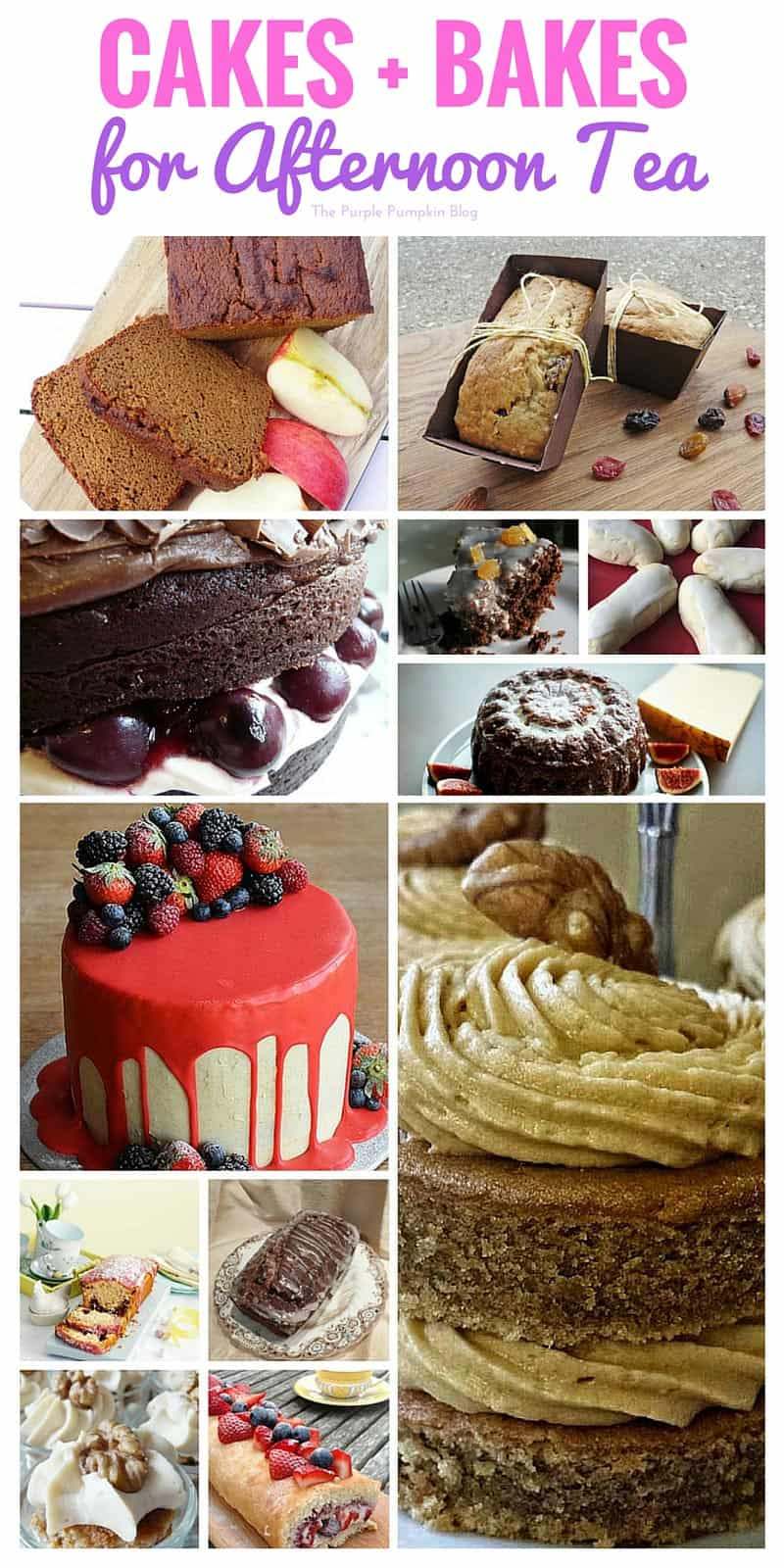 Cakes + Bakes for Afternoon Tea + 38 more delicious afternoon tea recipes to try.