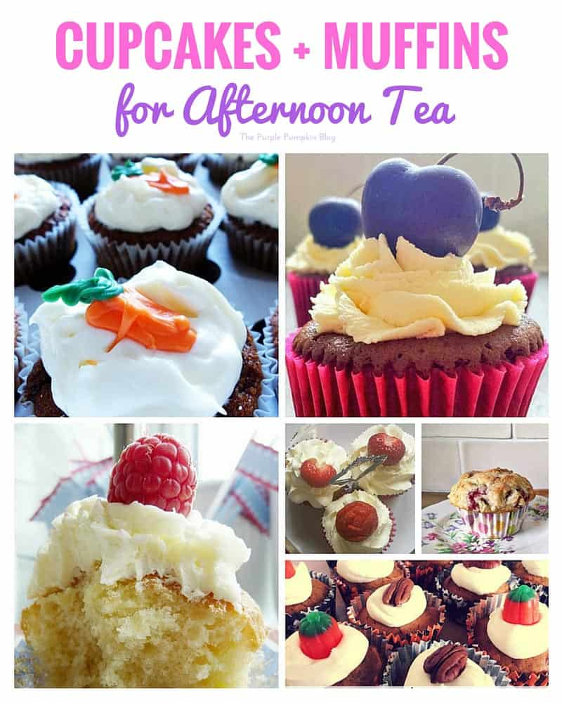 Cupcakes + Muffins + 44 more recipes for afternoon tea!