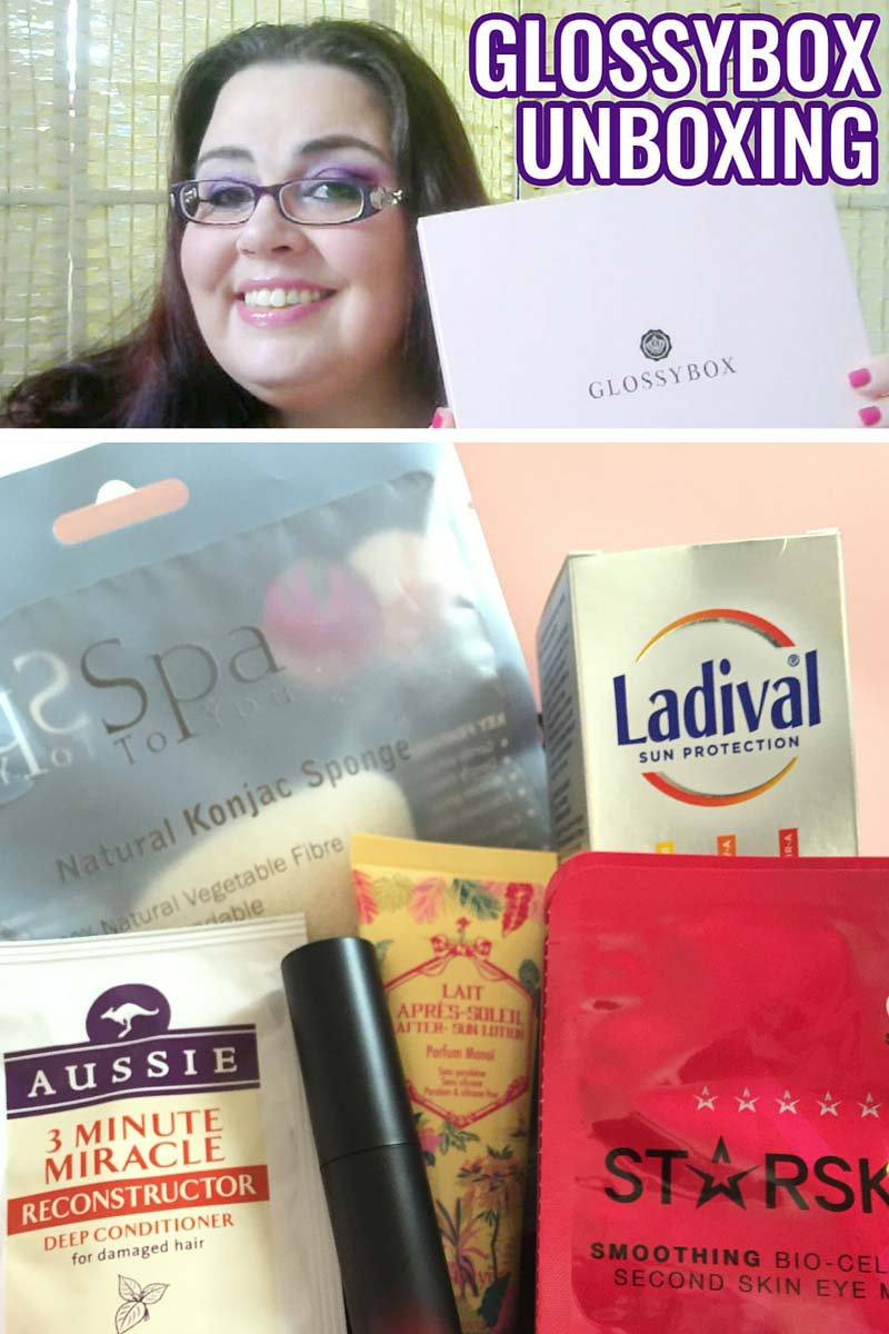 Glossybox - June 2016 Unboxing Video