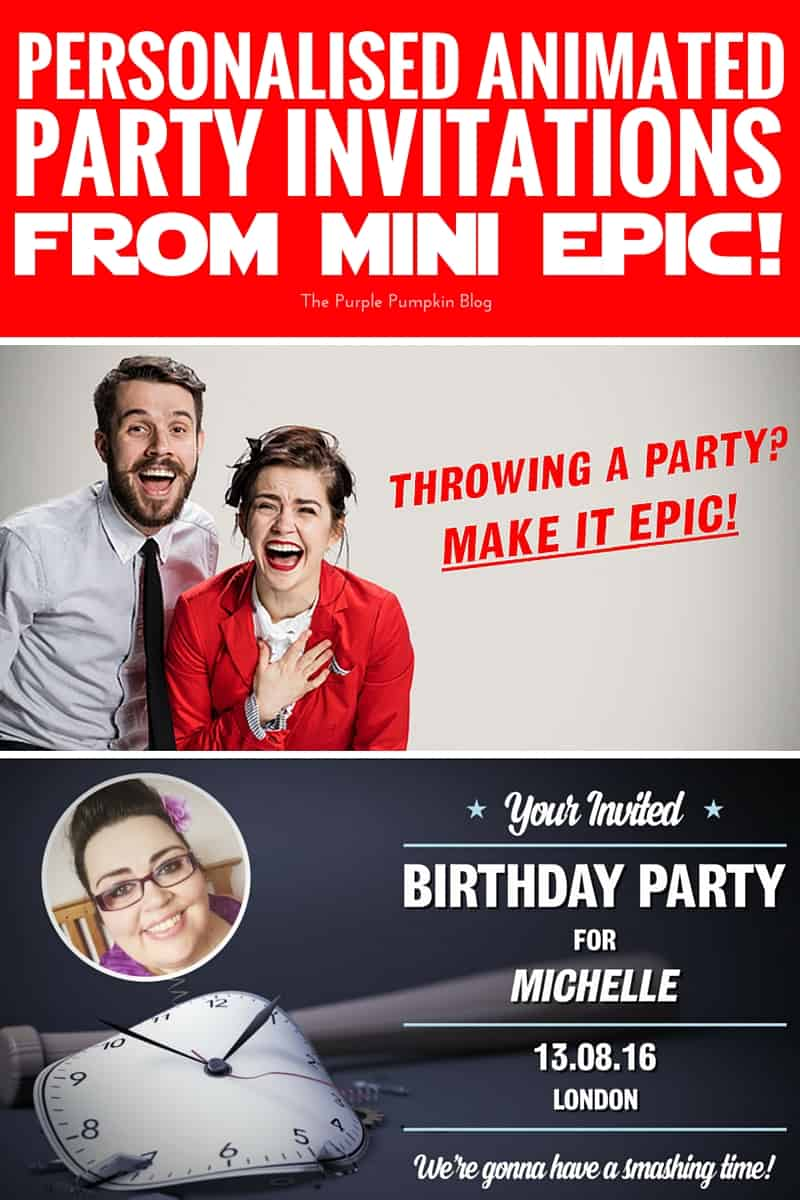 My 40th Birthday Party Planning Invitations From Mini Epic