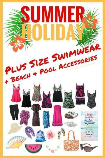 Plus Size Swimwear + Beach and Pool Accessories