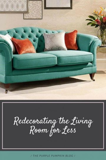 Redecorating the Living Room for Less