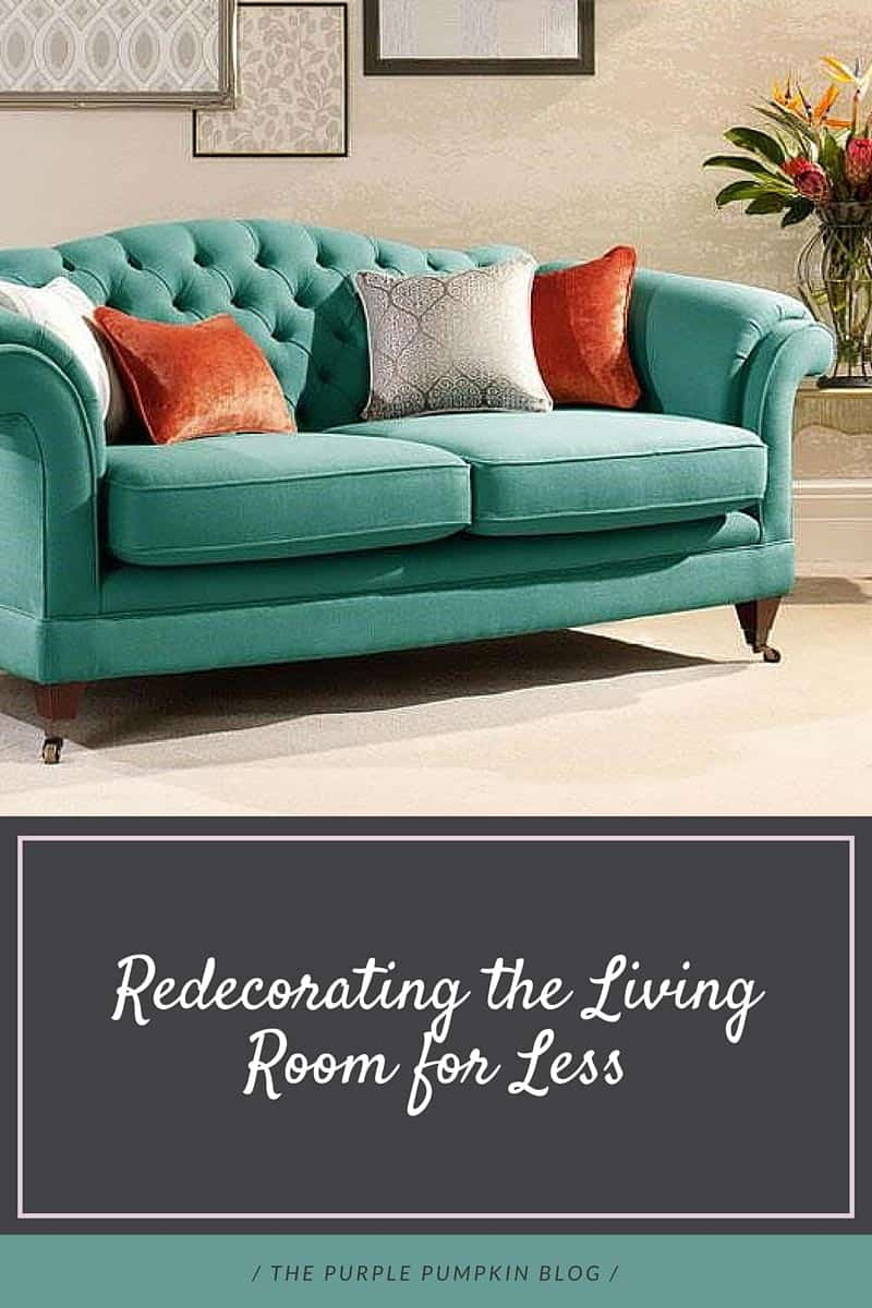 Redecorating the living room for less for Redecorating living room
