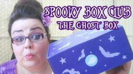Spooky Box Club - The Ghost Box Unboxing Video