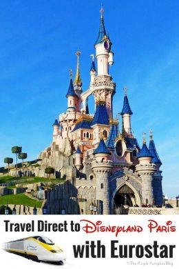 Travel Direct to Disneyland Paris with Eurostar