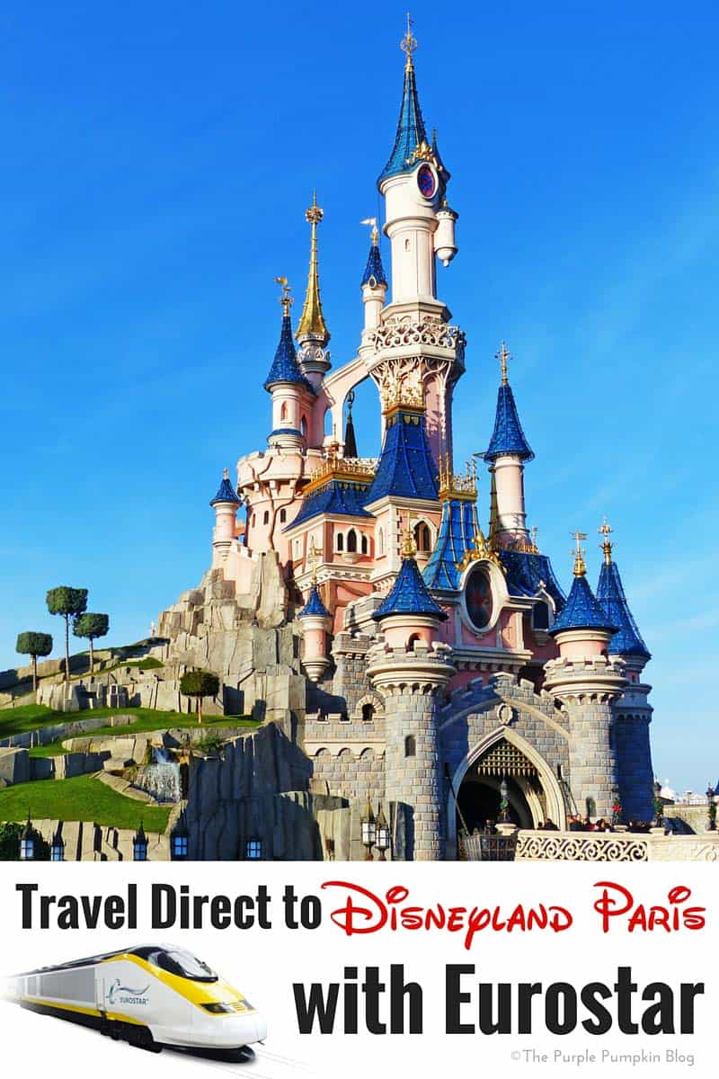 Travel Direct to Disneyland Paris with Eurostar