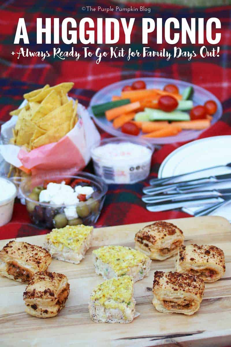 Higgidy Picnic + Always Ready To Go Kit for Family Days Out