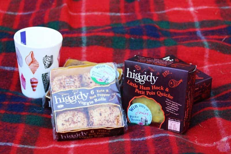 Higgidy Quiche + Veggie Rolls