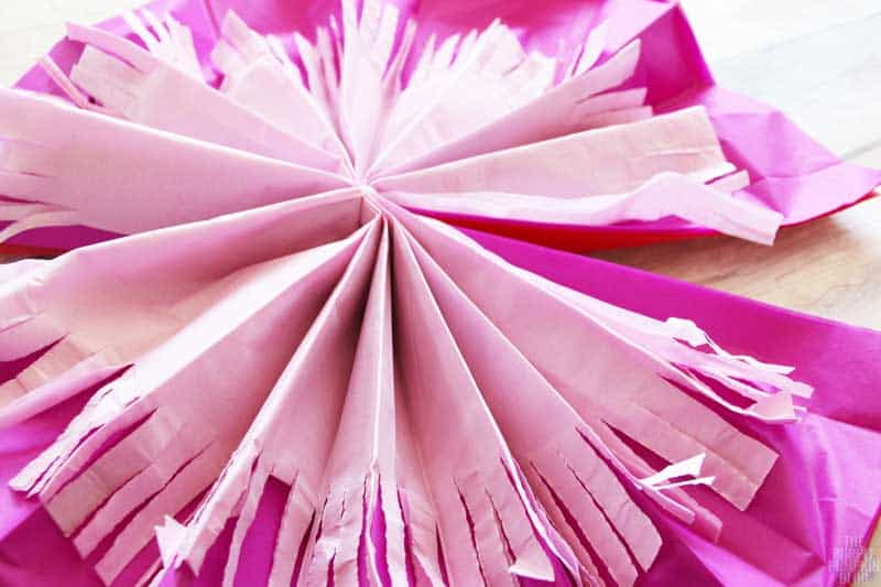 How to make tropical tissue paper flowers how to make tissue paper flowers mightylinksfo Gallery
