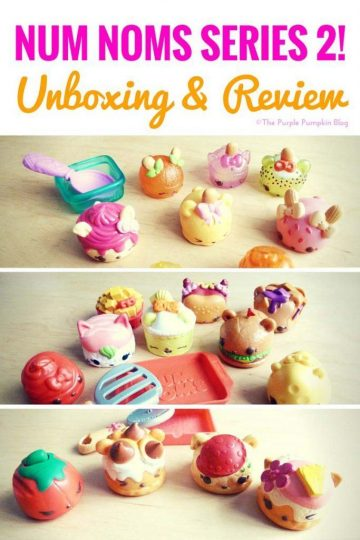 Num Noms Series 2 - Unboxing & Review