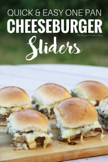 Quick & Easy One Pan Cheeseburger Sliders