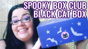 Spooky Box Club - Black Cat Box