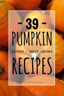 39 Pumpkin Recipes - Savoury, Sweet + Drinks