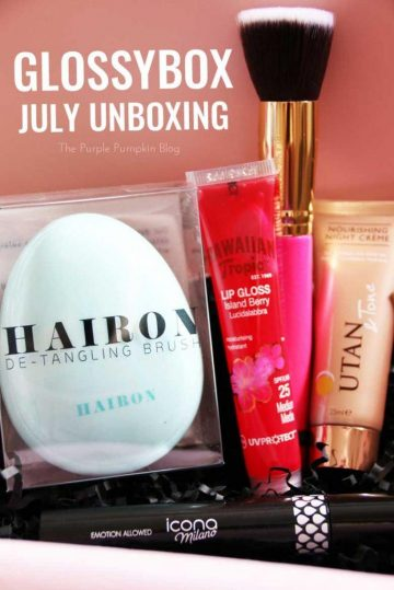 Glossybox Unboxing - July
