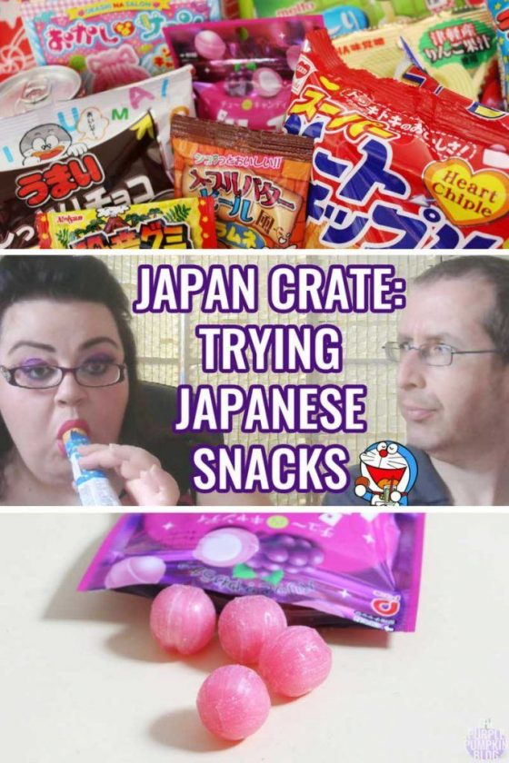 Japan Crate - Trying Japanese Snacks