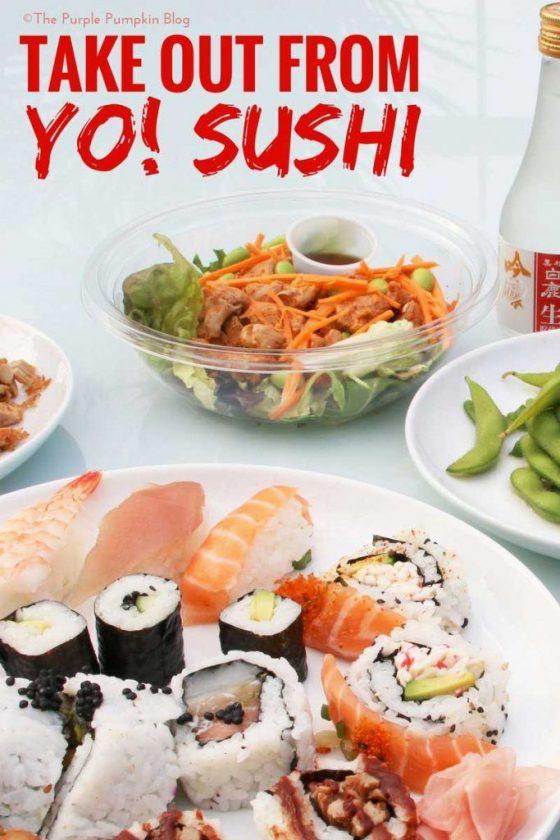 Take Out from Yo! Sushi