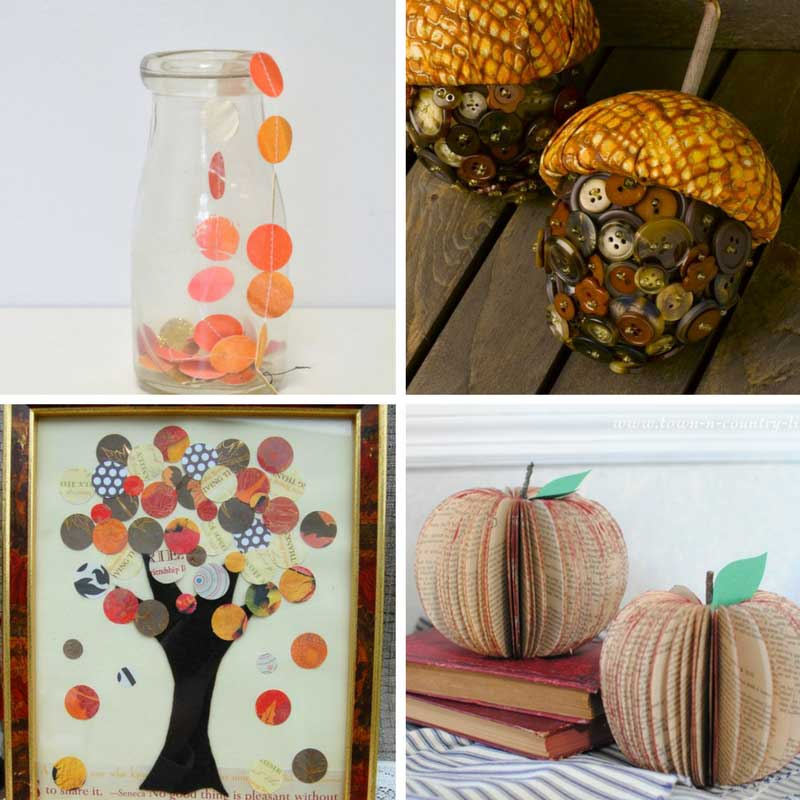 Crafts For Autumn Adults