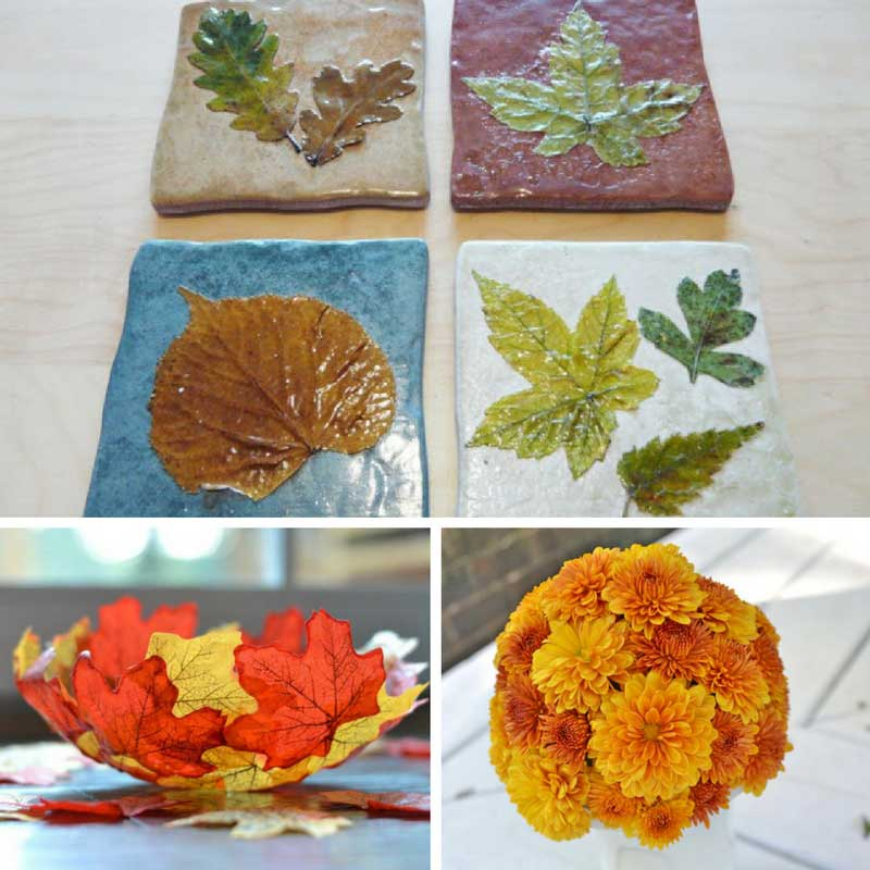 18 autumn crafts for adults the purple pumpkin blog for Leaf crafts for adults