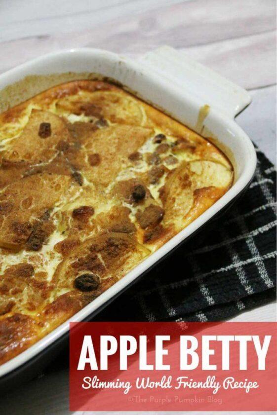 Apple Betty - Slimming World Friendly Recipe