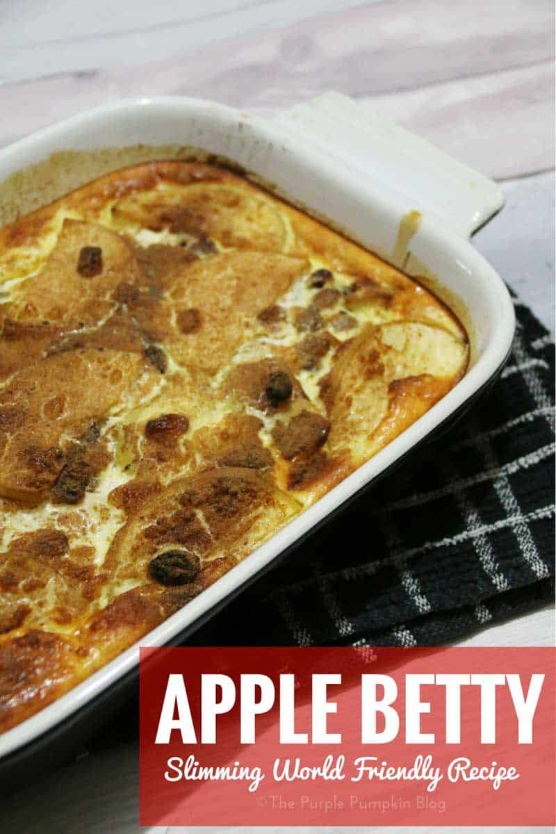 Apple Betty Slimming World Recipe The Purple Pumpkin Blog