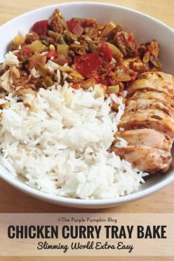 Chicken Curry Tray Bake - Slimming World Extra Easy