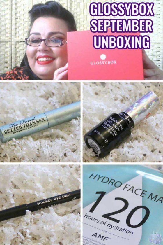 Glossybox Unboxing - September