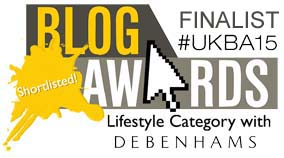 UK Blog Awards Finalist 2015