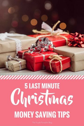5 Last Minute Christmas Money Saving Tips. Don't panic, there is still time to save money at Christmas!