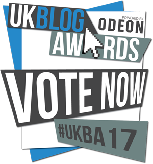 Vote for The Purple Pumpkin Blog UK Blog Awards 2017