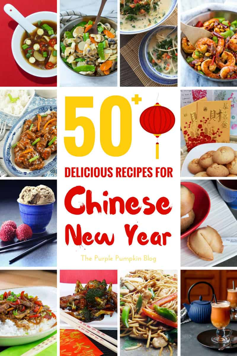 50+Delicious Recipes for Chinese New Year