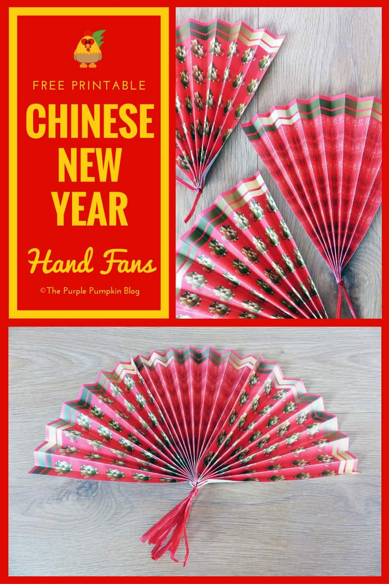 Year of the Rooster Free Printable Paper Hand Fans » The ...