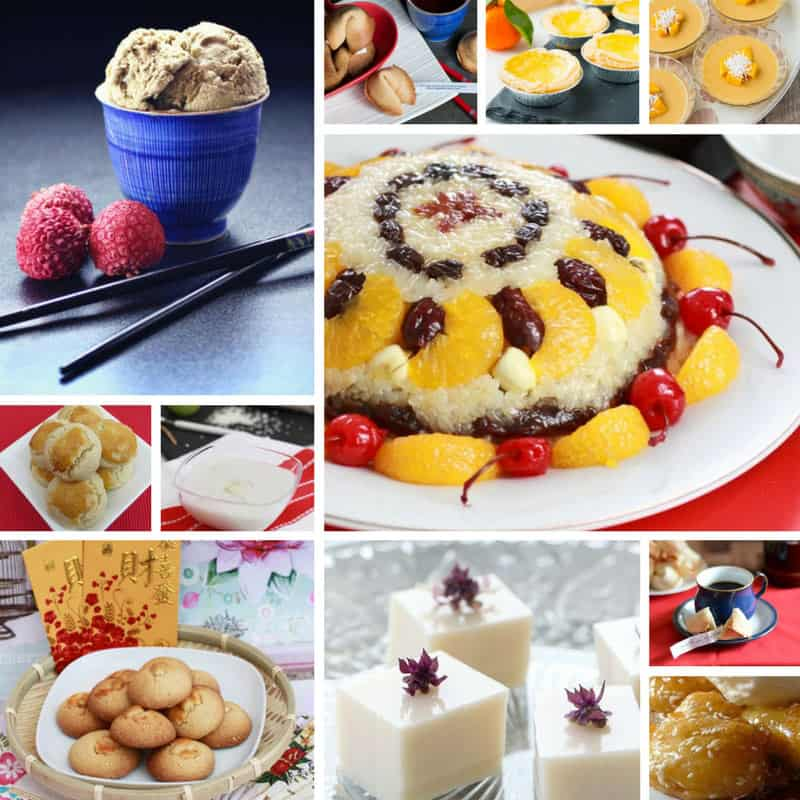 Recipes for Chinese Cookies + Desserts