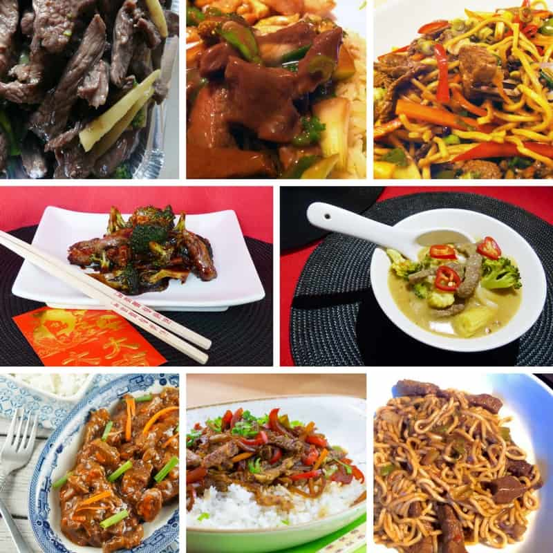 Recipes for Chinese Main Dishes with Beef